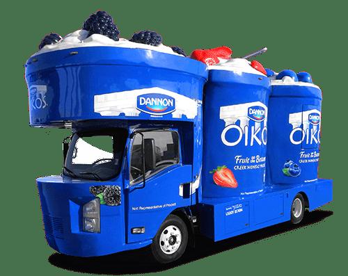 Oikos Mobile Sampling and Marketing