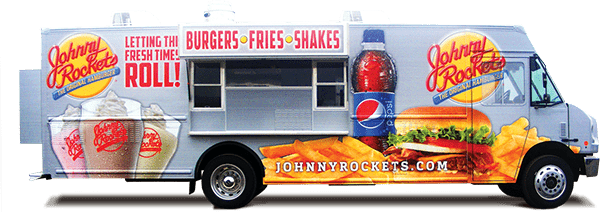 Johnny Rockets Large Box Truck